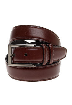 Geoffrey Beene Men's Milled Grain Dress Belt