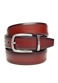 Geoffrey Beene Laser Perforated Reversible Belt