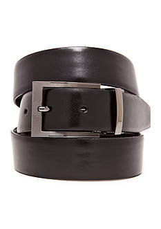 Geoffrey Beene Reversible Feather Edge Dress Belt