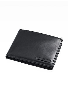 Geoffrey Beene Mead Leather Passcase Billfold Wallet