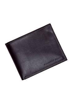Geoffrey Beene Black Durham Passcase Wallet