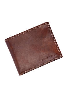 Geoffrey Beene Brown Durham Passcase Wallet