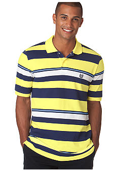 Chaps Big & Tall Port Royal Multi Stripe Polo
