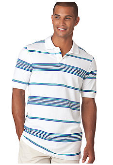 Chaps Savannah Blanket Stripe Polo