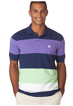 Chaps Georgia Bar Stripe Polo