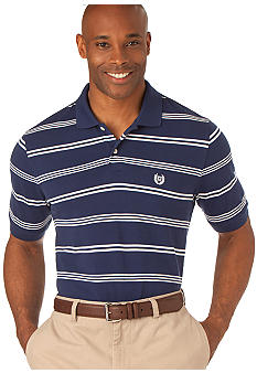 Chaps Bay Point Stripe Polo