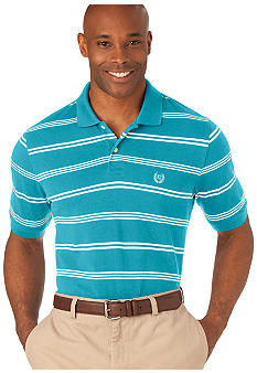 Chaps Big & Tall Baypoint Stripe Polo