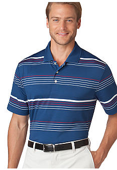 Chaps Performance Coastal Stripe Polo