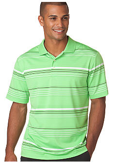 Chaps Big & Tall Performance Coastal Stripe Polo