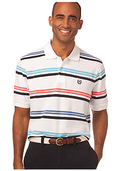 Chaps Rose Hall Stripe Polo