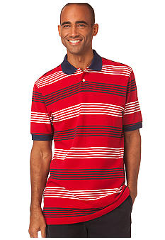 Chaps Independence Stripe Polo