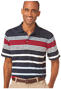 Chaps Performance Multi Stripe Polo