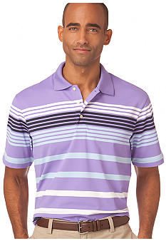 Chaps Big and Tall 9th Hole Stripe Performance Polo
