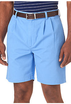 Chaps Double Pleated Shorts