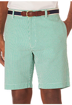Chaps Gingham Seersucker Short