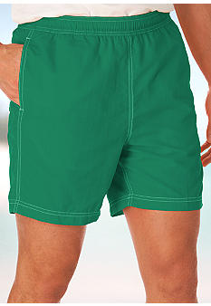 Chaps Nylon Taslon Swim Trunks
