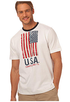 Chaps Old Glory USA Flag Tee