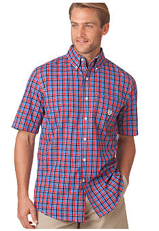 Chaps Big & Tall Wrinkle-Free Kiawah Check Shirt