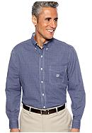 Chaps Big & Tall Long Sleeve Gingham Shirt