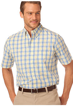 Chaps Blue Harbour Plaid Shirt