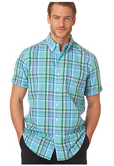 Chaps Shettle Wood Plaid Shirt