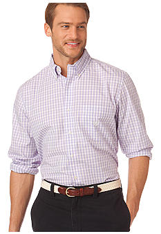 Chaps Summer Moon Gingham Shirt