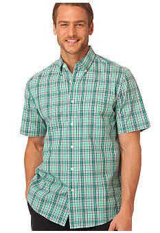 Chaps Sundrenched Sandy Bay Plaid Shirt