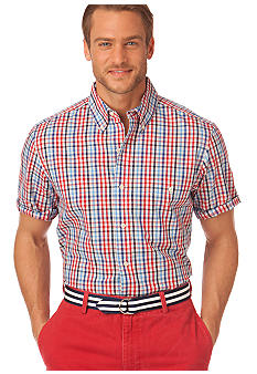 Chaps White Sands Plaid Shirt