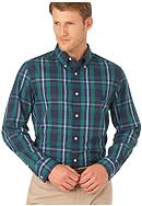 Chaps Custom Fit South Shore Plaid Shirt