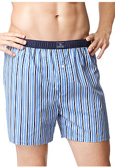 Izod Underwear - Striped Woven Boxers