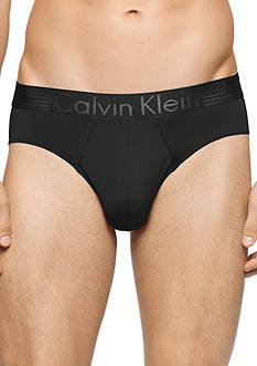 Calvin Klein Iron Strength Fashion Low Rise Hip Briefs