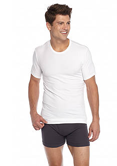 Calvin Klein Cotton Stretch Crew Neck Tee - 2 Pack