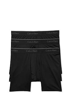 Calvin Klein Microfiber Stretch Boxer Briefs - 3 Pack