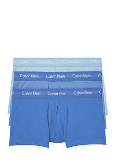 Calvin Klein Cotton Stretch Low Rise Trunks - 3 Pack
