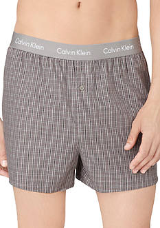Calvin Klein Slim-Fit Classic Woven Boxers