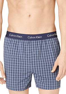 Calvin Klein Slim-Fit Classic Woven Boxers