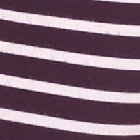 Calvin Klein Men Sale: Dark Violet/White Stripe Calvin Klein Steel Micro Hip Briefs