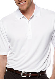 IZOD Golf Grid Polo Knit