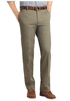Izod No Iron Flat Front Pants