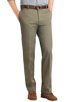 Izod Classic Fit Flat Front Non-Iron Pants