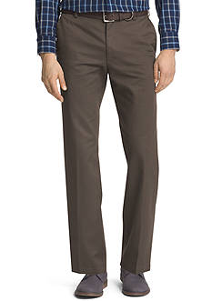 IZOD Wrinkle-Free American Chino Straight Fit Chino Pants