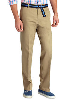 Izod Straight-Fit Madison Flat-Front Non-Iron Pants