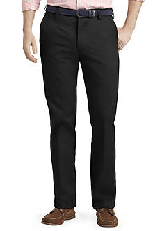 IZOD Slim Fit American Chino Flat Front Wrinkle-Free Pants