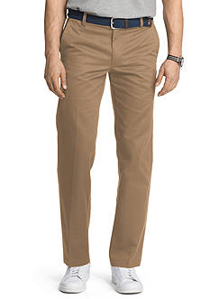 Izod Slim-Fit American Chino Flat-Front Wrinkle-Free Pants
