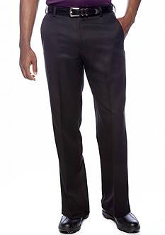 IZOD Flat Front Microfiber Golf Pants