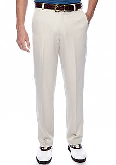Izod Golf Micro-Sanded Flat Front Pants