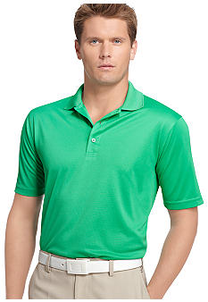 Izod Golf Textured Grid Polo