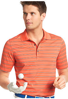 Izod Short Sleeve Stripe Polo