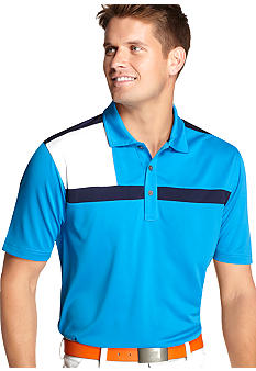 Izod Golf Short Sleeve Color Block Polo