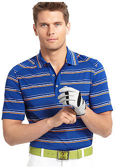 Izod Golf Jersey Stripe Polo